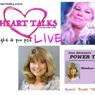 Heart Talks Introduction to Jean Adrienne Host of Power Talk