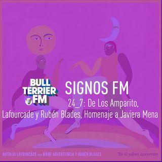 SignosFM 24_7: De Los Amparito, Natalia Lafourcade con Rubén Blades, Homenaje M3N4 y más