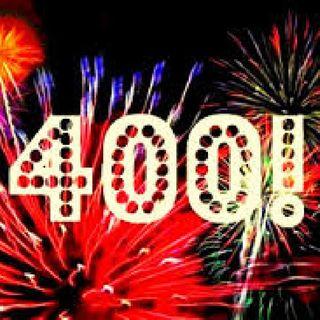 400!! I can't believe it!