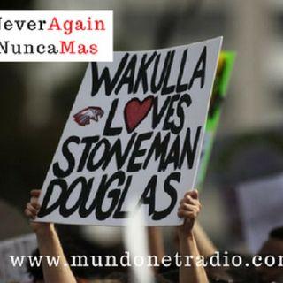 #NeverAgain Sussy quien fue testigo de la tragedia de 14 de Febrero del 2014 en ParkLand Florida nos cuenta su experiencia