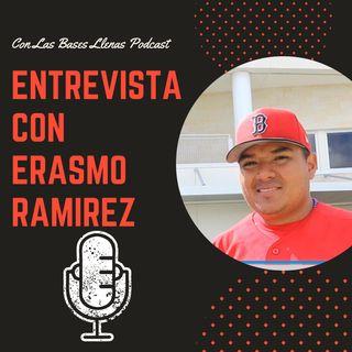 Entrevista con el lanzador nicaragüense Erasmo Ramírez