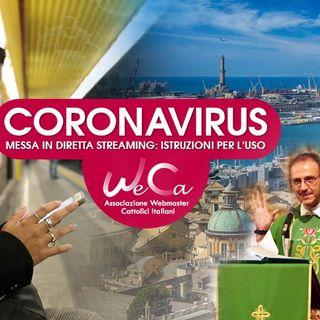 3 - Coronavirus Messe in streaming istruzioni per l'uso