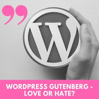Entrepreneur Moms - WordPress Update 5.0 - Gutenburg