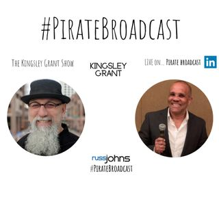Join Kingsley Grant on the PirateBroadcast