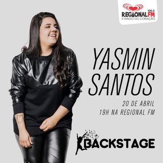 Backstage Yasmin Santos Ao Vivo