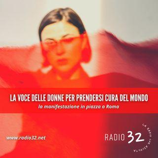 Le voci delle donne per prendersi cura del mondo. La manifestazione in piazza a Roma