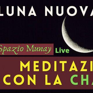 Meditazione di Luna Nuova  - Praticare con la Chakana | Spazio Munay con Roberta Tomassini | Live