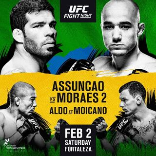 Review Of UFCONESPN+2 In Fortaleza,Brazil,Incredible Card!!!
