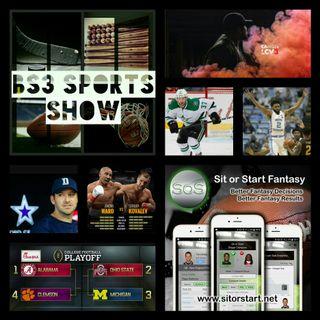 BS3 Sports Show 11.19.16 (Sponsored by @SitOrStartApp)