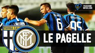 NON siamo comunque contenti! Parma Inter 1-2: Pagelle e commento a caldo