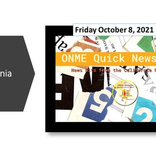ONME Quick News - 10-8-21