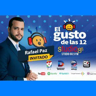 El Gusto de las 12- Episodio 70- 4 Octubre-2019 Rafael Paz & Teresa Aida
