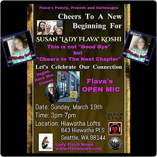 "REEDality Radio: LIVE RECORDING @ CHEERS TO NEW BEGINNINGS LADY FLAVA ""THE ARTIST CHEERLEADER"