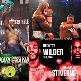 Joshua v Takam review!! Wilder v Stiverne rematch!!!