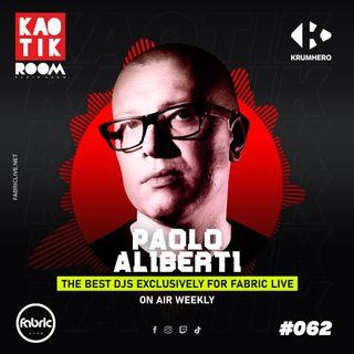 PAOLO ALIBERTI (From Krumhero) - KAOTIK ROOM