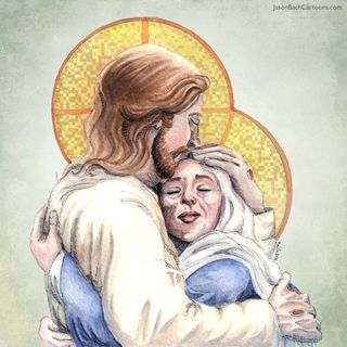 Our Lady & the Risen Lord