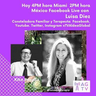 #250 Luisa Diez, Constelaciones Familiares y Bioenergética desde México