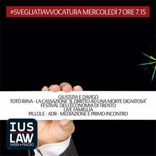 MERCOLEDÌ, 7  GIUGNO 2017 #SvegliatiAvvocatura - LIVE