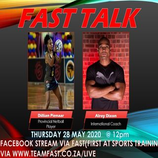 FAST Talk with Dillian Pienaar Pt 1