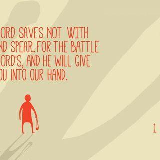 How To Break Spirit Of Goliath Working Against Your Destiny. 1 Samuel 17:47