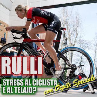 Pedalare sui Rulli, stress per il ciclista… e per il telaio in carbonio?