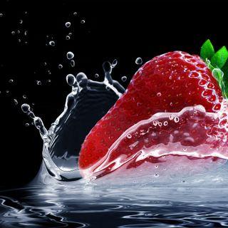 Fresas para los peces