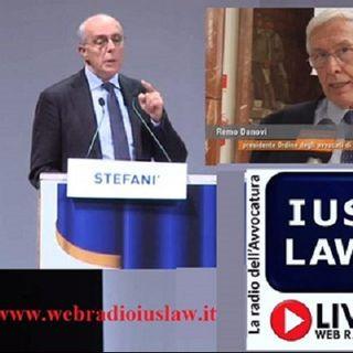 Avv. Giovanni STEFANI' -Pres. COA Bari- e Avv. Remo DANOVI -Pres. COA Milano- su #OpenAgorà 12.09.2016