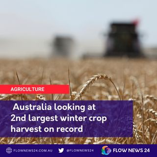 2nd highest Aust. winter crop on record: ABARES
