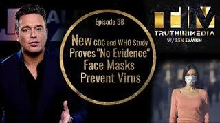 New CDC and WHO Study Proves  No Evidence  Face Masks Prevent Virus