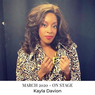 Creative Interview with Kayla Davion - 'On Stage' of Tina: The Broadway Musical - March 2020
