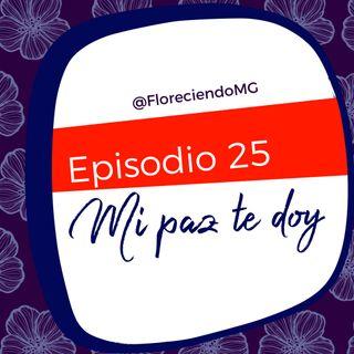Episodio 25 - Mi paz te doy