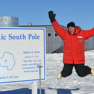 NOAA Marine Scientist Working In South Pole Plans on Cheering Patriots