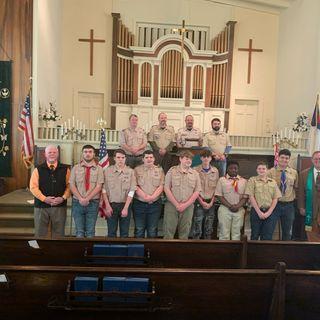 "Coach John Luttrell ""Leadership"" Scout Sunday"
