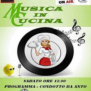 Musica In Cucina 7 marzo RadioOvest