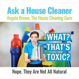 Why We Talk About Cleaning Chemicals Here