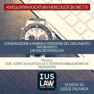MERCOLEDÌ, 28  GIUGNO 2017 #SvegliatiAvvocatura - LIVE