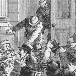 Trenes, sobornos y una quiebra detrás del primer Jueves Negro
