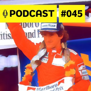 #045 - Alain Prost: 'apenas' o vilão dos brasileiros ou gênio incompreendido?