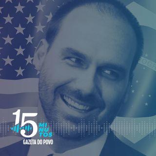Lei do Hambúrguer: projeto pode barrar filho de Bolsonaro na embaixada dos EUA