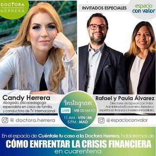 Como enfrentar la crisis financiera en cuarentena Rafael y Paula Alvarez #6
