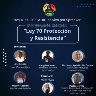 Ley 70 protección y resistencia del pueblo afrocolombiano