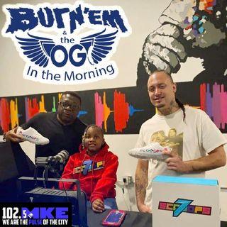 Burn'Em & The OG In The Morning 8-5-2020 On UpTown Radio Via 102.5 FM The Pulse Ft. 7 Scoops Ceo Kaliyah Wheeler & Jacarrie Carr