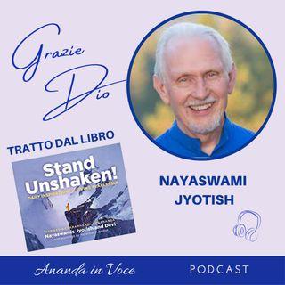 6_Il segreto di vivere senza paura è: la pratica della gratitudine - pensiero di Nayaswami Jyotish