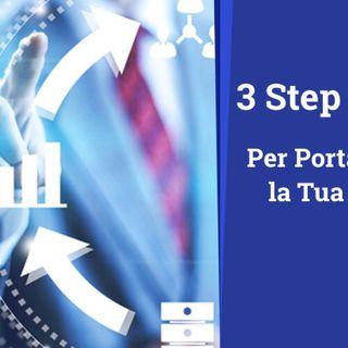 3 Passi Necessari per portare Online la tua azienda o Attività