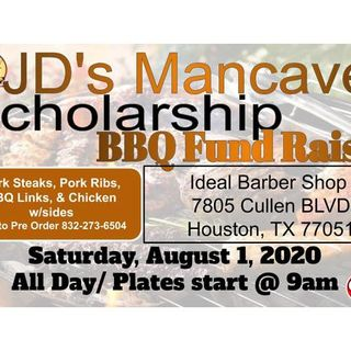 JD's Mancave on Location of The Scholarship Fund Raiser