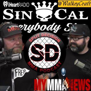MMA News UFC 243 Bellator Dublin 228 UFC Copenhagen Michael Bisping One Eye Venom Page Miragliotta
