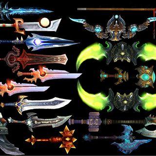 Armas Miticas y legendarias
