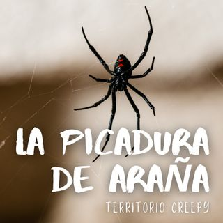 La picadura de araña