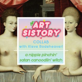 Art Sis Collab! A Nipple Pinchin' Satan Canoodlin' Witch