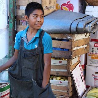En contra del trabajo infantil